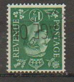 GB George VI  SG 505wi wmk inverted Used