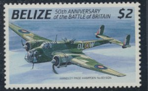 Belize 1990 SG 1091  MNH Aircraft  Battle of Britain SC# 956   see scan/details