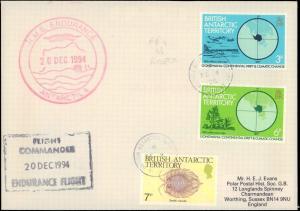 British Antarctic Territory #132, Antarctic Cachet and/or Cancel