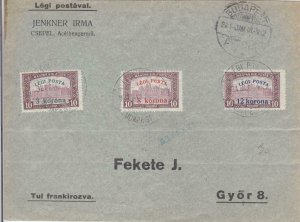 1920, Flight AAMC-5, Budapest to Szombathely, Hungary, See Remark (24385)