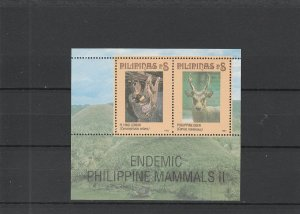 Philippines  Scott#  2353  MNH  S/S  (1995 Wildlife)