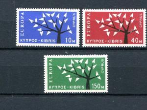 Cyprus #219-21 Mint VF NH