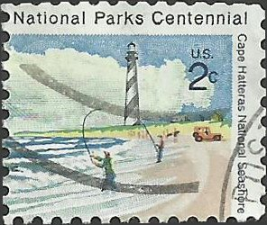 # 1449 USED CAPE HATTERAS LIGHTHOUSE