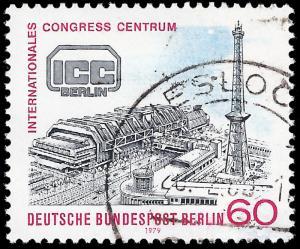 Germany-Berlin 1979 Sc 9N425 uvf