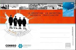 PS-268 ARGENTINA 2018 P STATIONARY ANTARCTICA WOMEN AT MELCHIOR STATION 50° ANIV