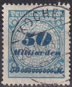 Germany #299  F-VF Used  CV $34.00  Z667