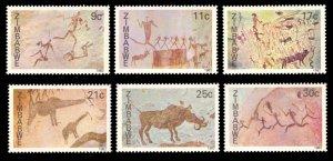 Zimbabwe 1982 Scott #446-451 Mint Never Hinged