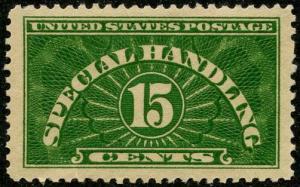 US Scott #QE2 Mint-VF; Hinged