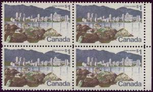 Canada - $1 Vancouver Block w. Short $ Flaw mint