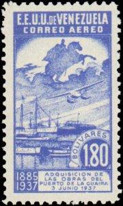 Venezuela #C64-C65, Complete Set(2), 1937, Never Hinged
