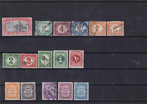 egypt officals+postage due stamps  Ref 9860