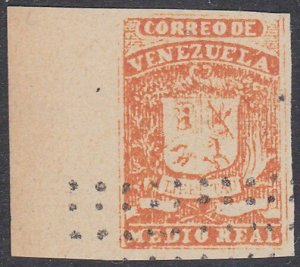 VENEZUELA   An old forgery of a classic stamp...............................D477