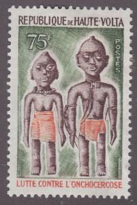 Burkina Faso 393 Blind Woman & Man 1976