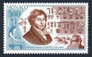 Monaco 1733,MNH.Michel 1977. Jean-Francois Champollon,Egyptologist,1990.