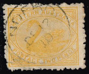 Australia-Western Aust. #91 Swan; Used (3.25)