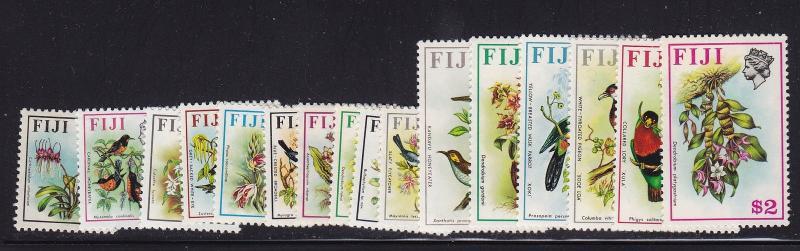 Fiji Scott # 305-320 set VF mint lightly hinged nice color cv $ 41 ! see pic !
