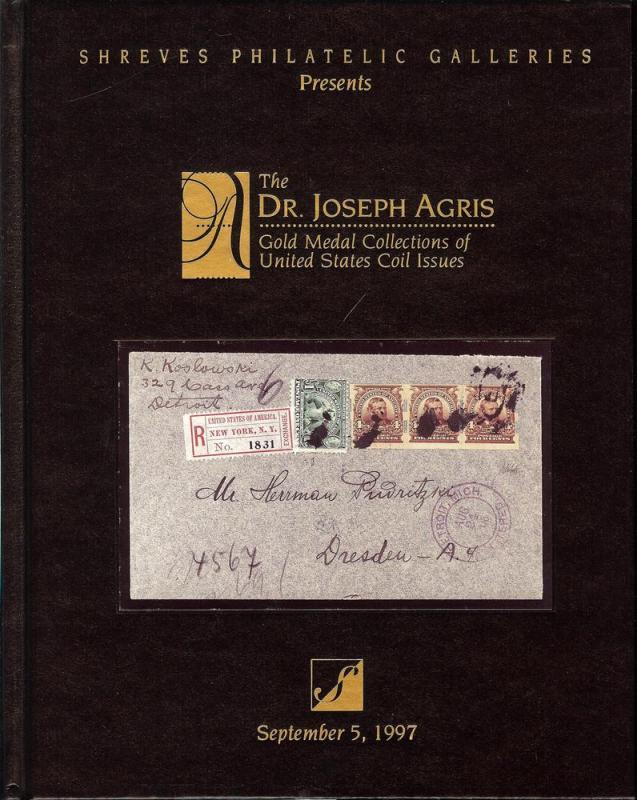 Shreve's: Sale #   -  The Dr. Joseph Agris Gold Medal Col...