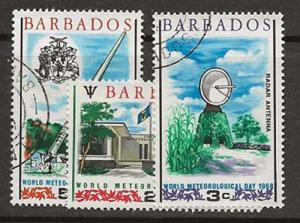 Nickel Auction. Barbados 303-305 u  [ca06]