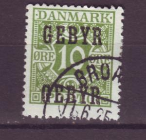 J16611 JLstamps 1923 greenland  used  #LF1 ovpt late fees
