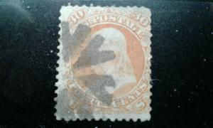 US #71 used e195.4371