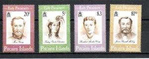 Pitcairn #399-402 MNH