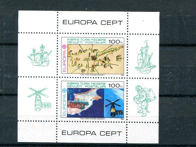 Cyprus Europa 1983  Mint VF NH