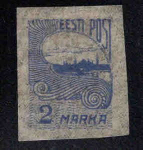 Estonia Scott 45 MH* on pelure paper