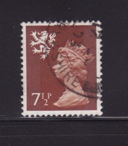Great Britain Scotland SMH9 U Queen Elizabeth II (A)