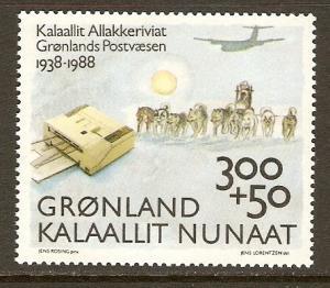 Greenland #B13 NH 50th Annv Post Office