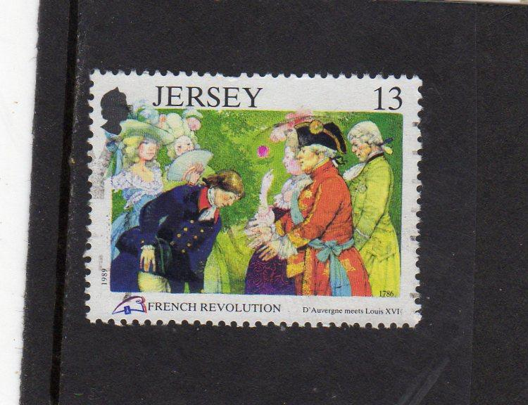 Jersey 1989 French revolution used
