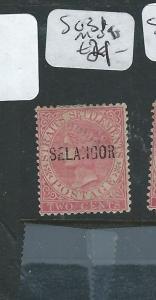 MALAYA SELANGOR (P0610B) 2C   QV  SG 31    MOG