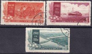 China #326, 328-9  F-VF Used CV $6.25 (Z1623)