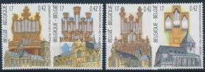 Belgium stamp Churches set MNH 2000 Mi 2977-2980 Building WS230185