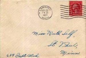 United States, 1922 Fourth Bureaus, Michigan