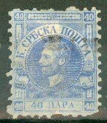 CX: Serbia 13 used CV $50