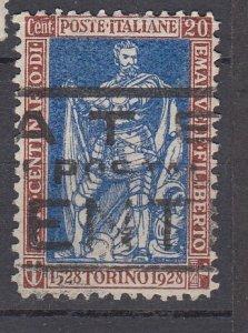 J29698, 1928  italy used #202 duke of savoy