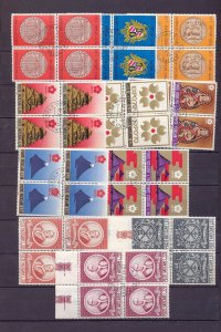 Vatican Religion Art Blocks Used (Appx 200 Stamps (NT612