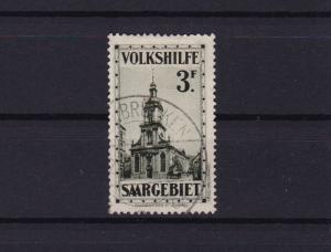 saar 1932 veiws  used 3f  stamp cat £275+  ref r15168