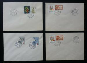 Yugoslavia Bosnia Sarajevo - 4 Red Cross Covers ! N5