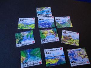 New Zealand #1116-25 Used - WDWPhilatelic