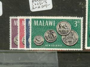 MALAWI (P0508B) COINS  SG232-5  MNH