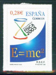 Spain Scott 3358 Fisica 2005 MNH**  self adhesive