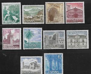 SPAIN, 1353-1362, MNH,  TOURISM
