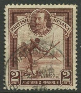 STAMP STATION PERTH British Guiana #211 - KGV Definitive Issue Used CV$2.00