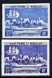 St Pierre & Miquelon 1971 Fisheries Protection Vessel...