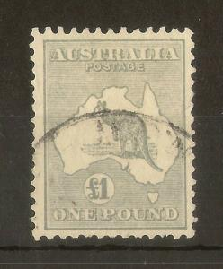 Australia 1935 £1 Roo SG137 Fine Used Cat£275