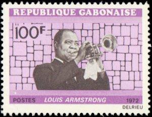 Gabon #295-297, Complete Set(3), 1972, Music, Never Hinged