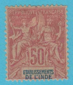 FRENCH INDIA 16 MINT HINGED OG * NO FAULTS VERY FINE !