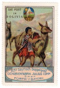 (I.B) Germany Cinderella : The Post Series (Bolivia)