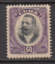Cuba SC# 238  1907 .50 Maceo Mhr